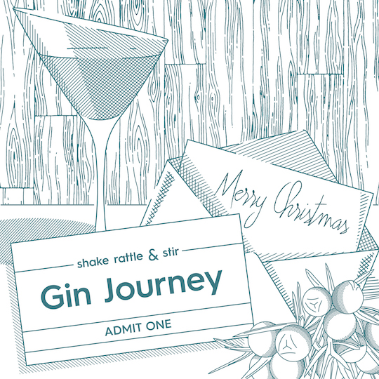 Gift Voucher Gin Journey Image